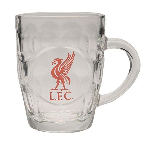 Team Verre à bière avec blason du club de football Liverpool Taille unique