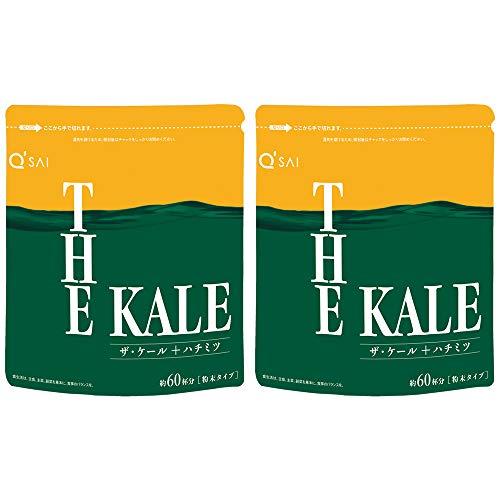 キューサイ はちみつ青汁 (ザ・ケール+ハチミツ) 粉末タイプ 420g/約30日分 2袋まとめ買い