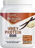 Life Extension Wellness Code Whey Protein Isolate, Vanilla, 403 Gram