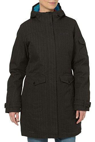 VAUDE Damen Mantel Womens Yale Coat VI, Fir Green, 38, 04828