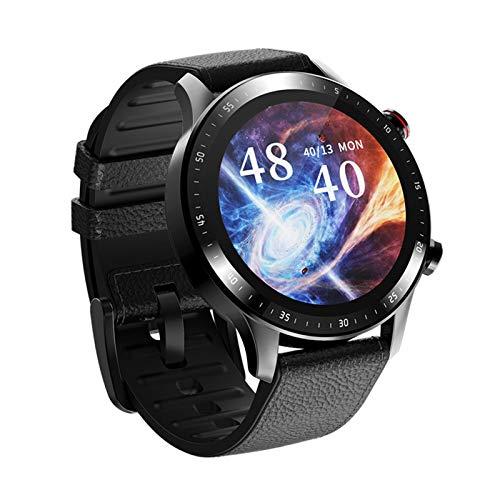HDSJJD Reloj Inteligente, Mode Mode Smart Watch con Ritmo Cardíaco Y Monitoreo De La Presión Arterial, Reproductor De Música Independiente Llamada Bluetooth, Compatible con Android, iOS,C