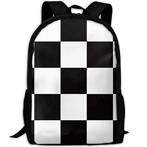 TTmom Zaini/Zaino Casual,Borse a Zainetto, Backpack Adult Checker...