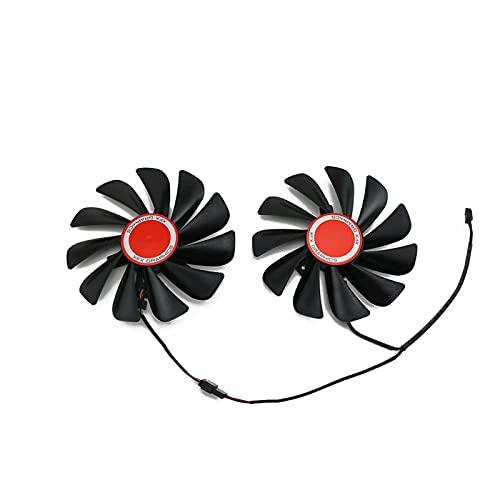 95mm FDC10U12S9-C CF1010U12S Fan Abria Reemplazar para XFX AMD Radeon RX 580 590 RX580 RX590 Tarjeta de gráficos Ventilador de enfriamiento