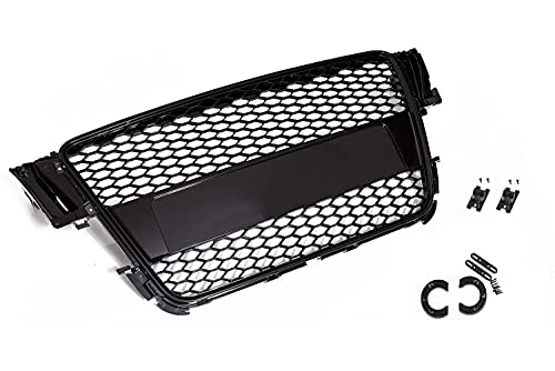 Passend für Audi A5 B8 S5 RS5 Kühlergrill Frontgrill Waben Grill Sport Tuning