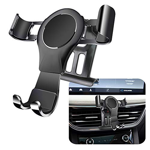 LUNQIN Car Phone Holder for 2020 Ford Escape SUV Auto Accessories Navigation Bracket Interior Decoration Mobile Cell Phone Mount