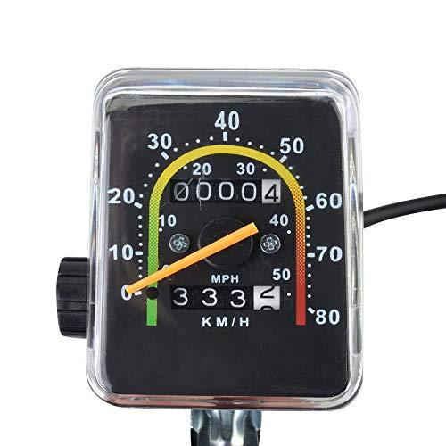 YXMxxm Mechanischer Fahrradcomputer, Wasserdichter Fahrrad-Tachometer Klassischer Kilometerzähler für 26