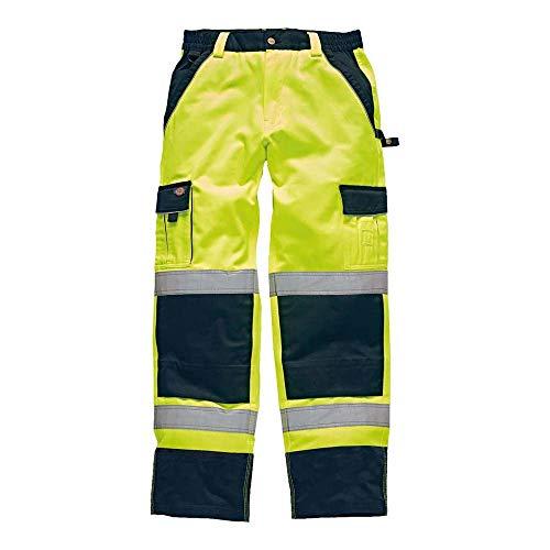 Dickies IN Hi-Vis Bundhose, 56, gelb, SA30035