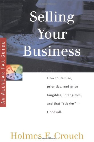 Selling Your Business (SERIES 400: OWNERS AND SELLERS)