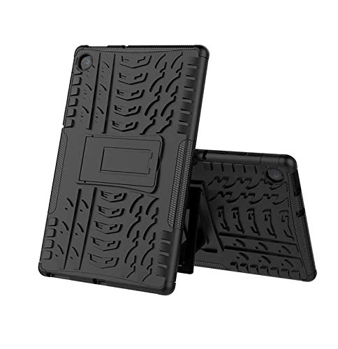 Helix Heavy Duty Rugged Armor Dazzle Shockproof Kickstand Case Back Cover for for Lenovo Tab M10 Plus TB-X606F TB-X606X