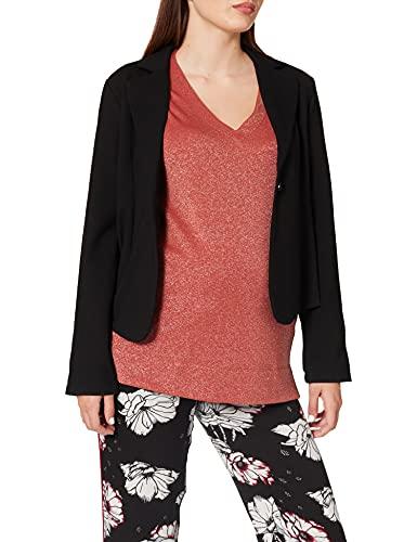 Noppies Damen Blazer Kaylin Umstandskostüm, Schwarz (Black C270), 44 (Herstellergröße: XX-Large)
