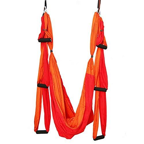 Fepelasi Luchtvaart Yoga Swing Vliegen Anti-zwaartekracht Hanger Plafond schommelstoel Hangmat Trapeze Haak Karabijnhaak Yoga Pilates Uitrusting Rekken Binnen en Buiten