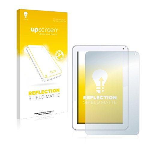 upscreen Entspiegelungs-Schutzfolie kompatibel mit Odys Neo Quad 10 – Anti-Reflex Bildschirmschutz-Folie Matt