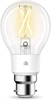 TP-Link KL50B KL50B(UN) TP-Link Kasa Filament Smart Bulb, Soft White, No Hub Required, B22 Lamp Base, Control from Anywher...