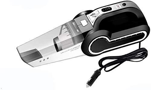 YBNB Autostaubsauger Handstaubsauger Aufblasbare Multifunktions-Vier-In-Eins-Kraft Und Leistungsstarkes Spezialauto Mit Doppeltem Verwendungszweck. Schwarzes Mechanisches Modell