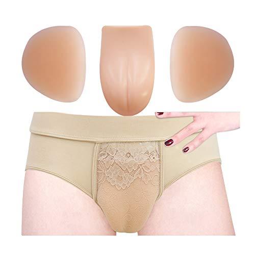 Hiding Gaff Panty Brief Shaping for Crossdressers Transgender Underwear
