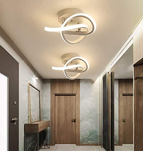 Osairous LED - Lámpara de techo regulable, acrílica, moderna, iluminación para cocina, salón, dormitorio