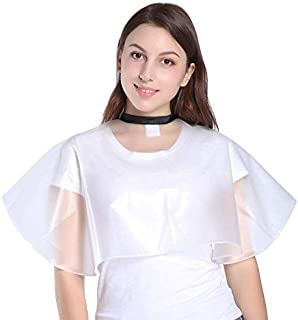 Short Salon Hair Shampoo Cape, Waterproof Capes for Cutting Styling Coloring Beauty Makeup