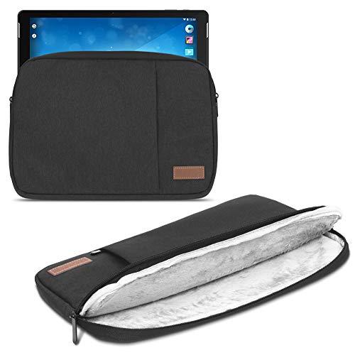 Sleeve Tasche für Trekstor Surftab Theatre L15 Hülle Schwarz Schutzhülle Cover Tablet Schutz Hülle
