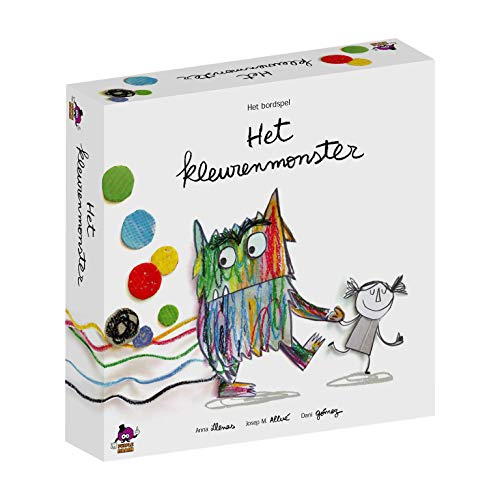 Het Kleurenmonster - Coöperatief bordspel voor kinderen - Emoties herkennen en beheren - Vanaf 4 jaar - Taal: Nederlands