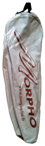 Morpho 10MHHOUST - Borsa porta racchette da neve da uomo, misura grande, colore: grigio