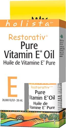 Holista Restorativ Pure Vitamin E Oil, Liquid, 28,000 IU, 28 mL