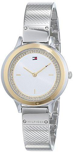 Tommy Hilfiger Unisex Analog Quarz Uhr mit Edelstahl Armband 1781912