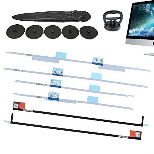 Kricson Bildschirm LCD Klebebandstreifen Ersatz-Entfernungswerkzeug Kit Klebeetiketten Streifen viel Werkzeuge zum Öffnen der Bildschirme für iMac 27A1419 21.5 A1418 LCD Bildschirm Entnahme (27)