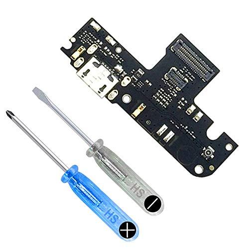 MMOBIEL Conector Dock de Carga de Reemplazo Compatible con Xiaomi Redmi Note 5A Flexcable Incl. Destornilladores