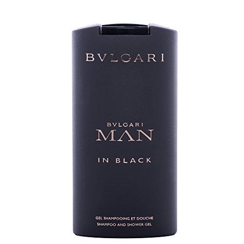 Bvlgari Man In Black homme/men, Duschgel, 1er Pack (1 x 200 ml)
