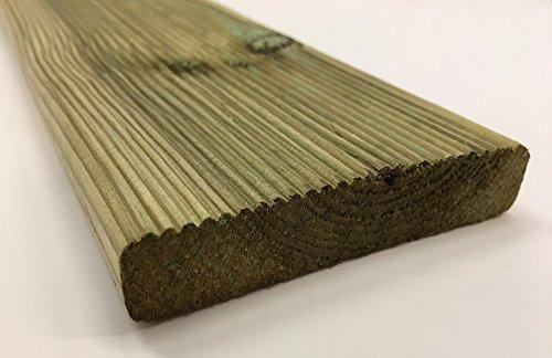 Tavole in massello di pino legno IMPREGNATE per pavimenti sez. cm. 2,8x11,50 lungh. Cm. 240 pezzi:24