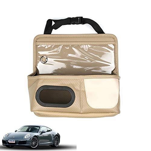 WSJF Achterbank Auto Organizer Multi Pocket Opslag IPad, Snacks, blikjes - Auto Stoel Opbergtas Tissue Box Opknoping Opbergdoos Multi Pockets Children's Opslag