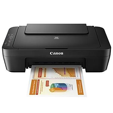 Canon MG Series PIXMA MG2525 Inkjet Photo Printer with Scanner/Copier, Black