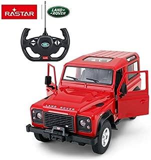 RASTAR Radio Remote Control 1/14 Scale Land Rover Denfender Licensed RC Model Car (Red)