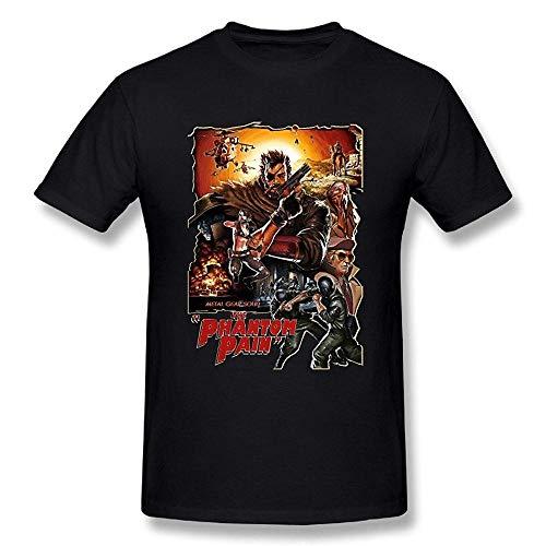Fashion Funny Tees Men's Metal Gear Solid V:The Phantom Pain Big Boss...
