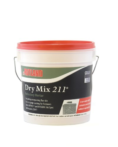 Best Review Of Rutland Products 211 Dry Mix Refractory Cement, 10 lbs