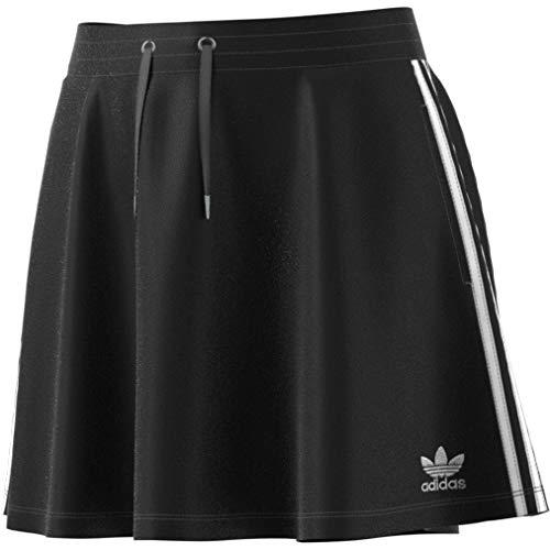 adidas 3S Skirt Falda, Mujer, Negro, 34