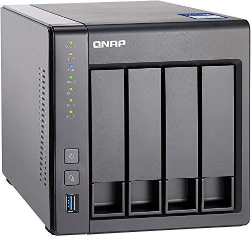 Preisvergleich Produktbild Qnap TS-431X-8G 4-Bay 48TB Bundle mit 4X 12TB Red WD120EFAX