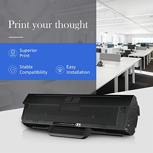 STAROVER 106A Reemplazo Compatible para HP 106A W1106A Cartuchos de Tóner para HP Laser 107a 107r 107w MFP 135a 135r 135w 135wg MFP 137fnw 137fwg (1 Negro, con Chip)