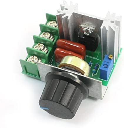 eDealMax 2000W SCR dimmer electrónico regulador de la velocidad de ajuste de temperatura