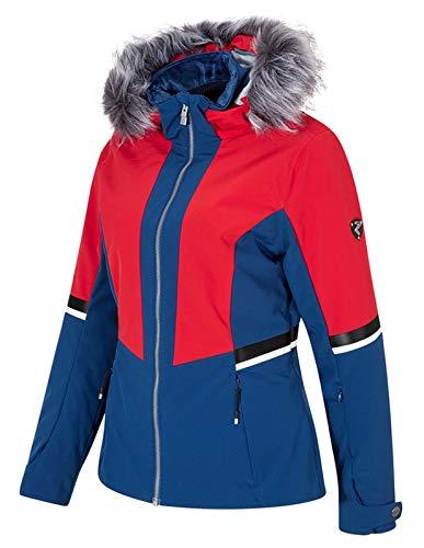 Ziener dames ski-jack winterjas trendy ski-jack Toyah Lady blauw rood