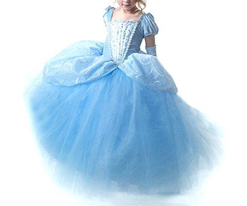 GETS(ゲッツ) オーロラ姫 風 ドレス プリンセスなりきり 子供 ドレス キッズ 子ども お姫様 ワンピース お...