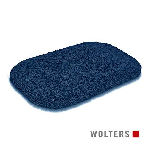 WOLTERS Cleankeeper ovale Matte versch. Größen und Farben, Größe:103 x 74 x 7 cm, Farbe:mitternachtsblau