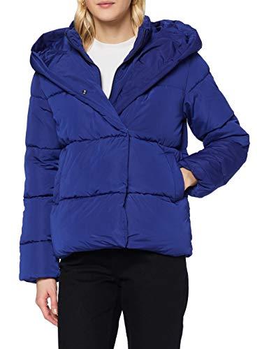 Only Onlsara Short Puffer Jacket Otw Chaqueta, Azul, L para Mujer