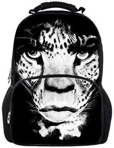 Bgdo.cccc Scolaire sac à dos Imprimé Créativ-3D Animal Sac à Dos Anime,Chat de Compagnie Animaux Sac à Main pour Enfant Garçon Fille Taille 31  18  44cm,w1837A