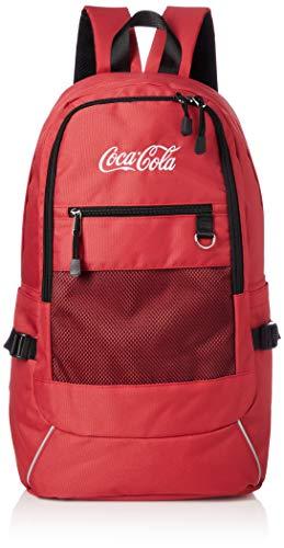 [コカ・コーラ] リュック デイパック メッシュリュック カバン かばん 鞄 バックパック コカ・コーラ ロゴ レディース メンズ ユニセックス 男女兼用 COK-MBBK23 レッド One Size