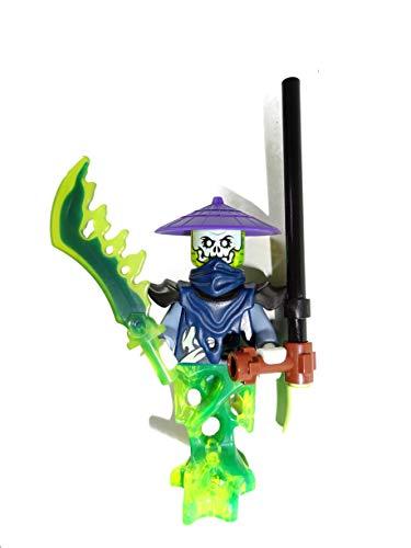 LEGO Ninjago: Minifigur Scythe Master / Sensenmeister Ghoultar (Ghost Warrior)
