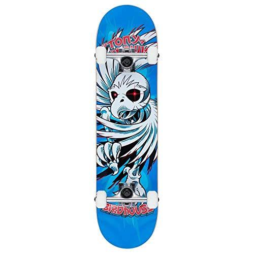 Birdhouse Skateboard Stage 1 Hawk Spiral Factory, 19,7 cm, Blau