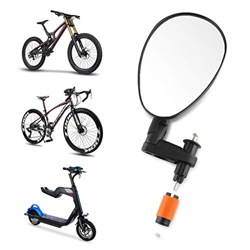Rétroviseur pour Vélo Rotation du Guidon Flexible VTT Miroir de Vélo de Route Cycliste Vélos Accessoires Portable