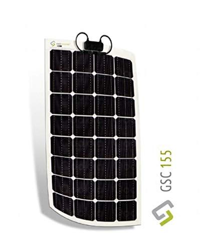Solarpanel 155 W Photovoltaik flexibel Monokristallin G-Draht