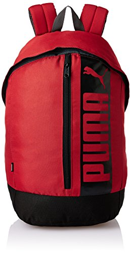 Puma Pioneer Backpack II–Mochila, Barbados Cherry, 22.3x 14,5x 47cm, 21litros, 07411504